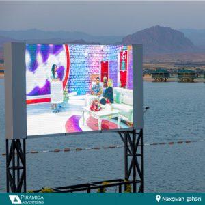 Naxçıvan led ekran reklam monitor işi